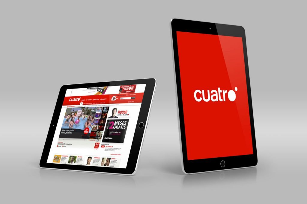 Cuatro.com - Art Direction