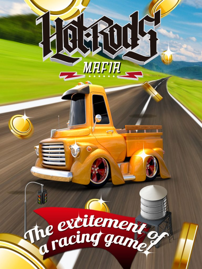 Hot Rods Mafia - IOS Game Development & Art Direction